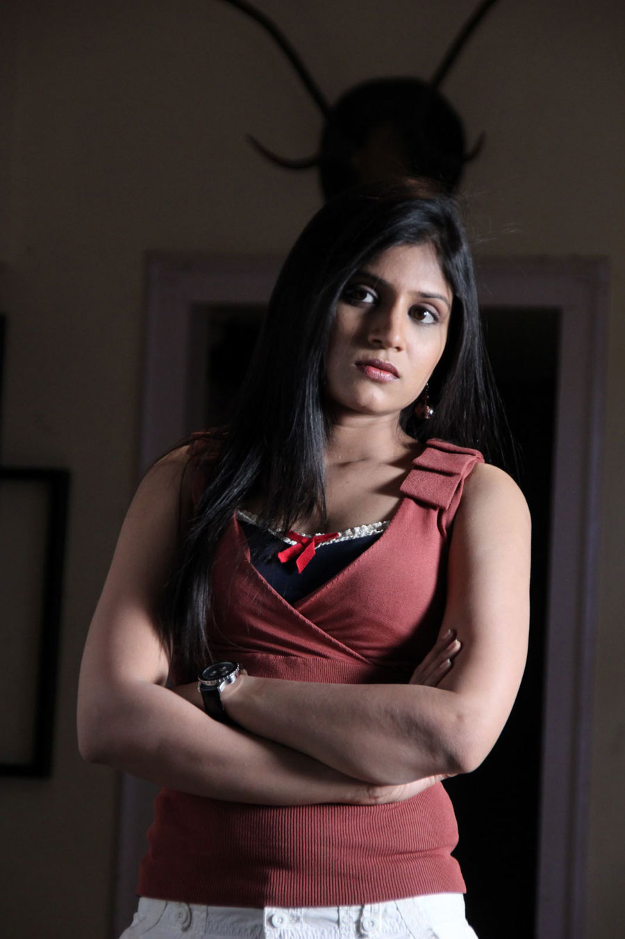 Shwetha Pandit from Theater Lo Movie Photo Gallery - Page 2 Swetha25
