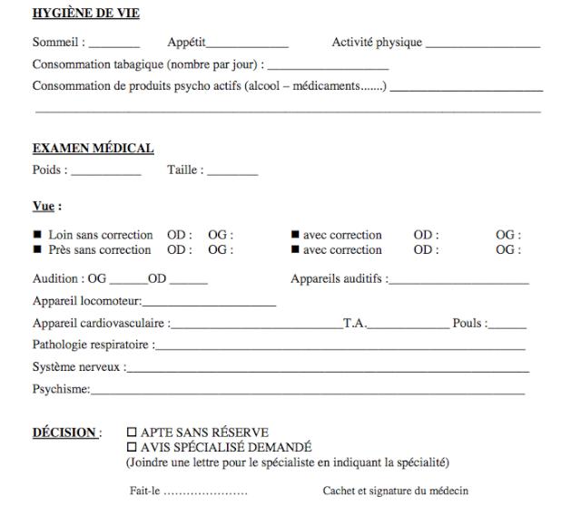 Questionnaire d'aptitude médicale légal ? Captur15