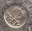 Phillippines counterstamp on a mexican iturbide coin Sin_ta11