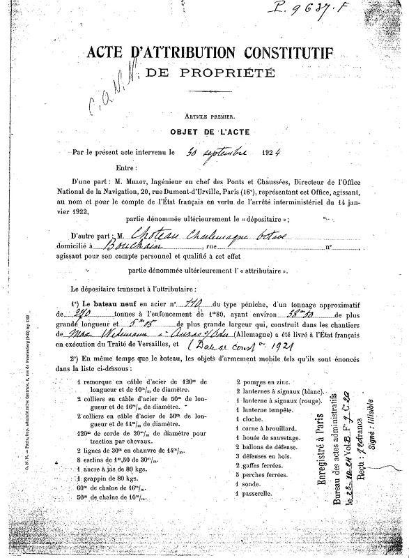Ma Péniche SAUCLAU (NASCITUR - RC Modelism - 1997) Nascit16