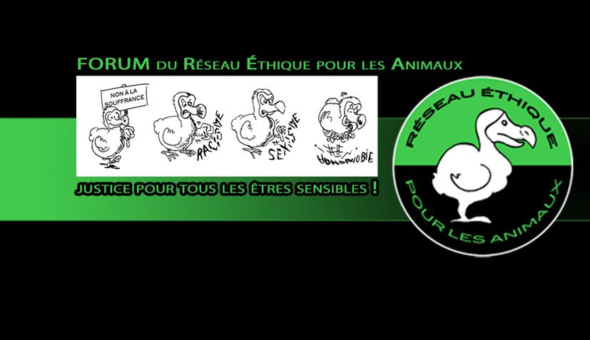 FORUM du Réseau Éthique pour les Animaux