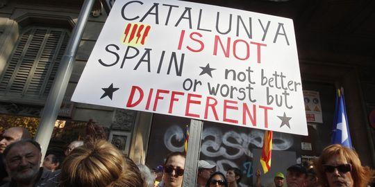 Volem viure en llibertat ! Démonstration de force des catalans 17589410