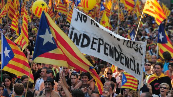 Volem viure en llibertat ! Démonstration de force des catalans 83745310