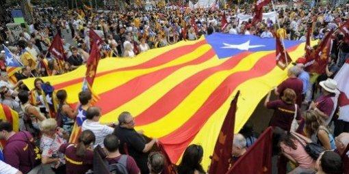 Volem viure en llibertat ! Démonstration de force des catalans C-est-10