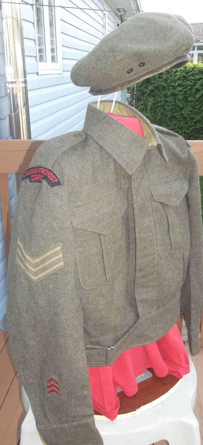Battle Dress canadien du Canadian Provost Corps Dscf5934