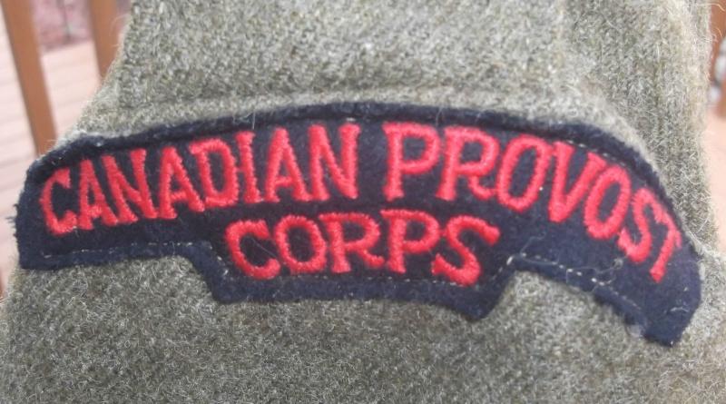 Battle Dress canadien du Canadian Provost Corps Dscf5935