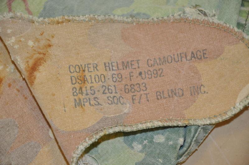 Casque parachutiste  US M1c 1965-67 ( Etats-Unis ) T2ec1616