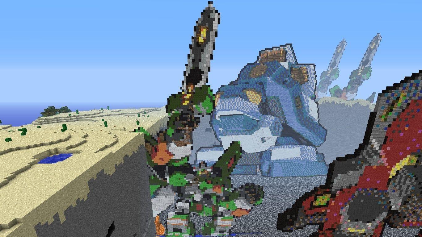 3 Arks in Minecraft :D 2012-012