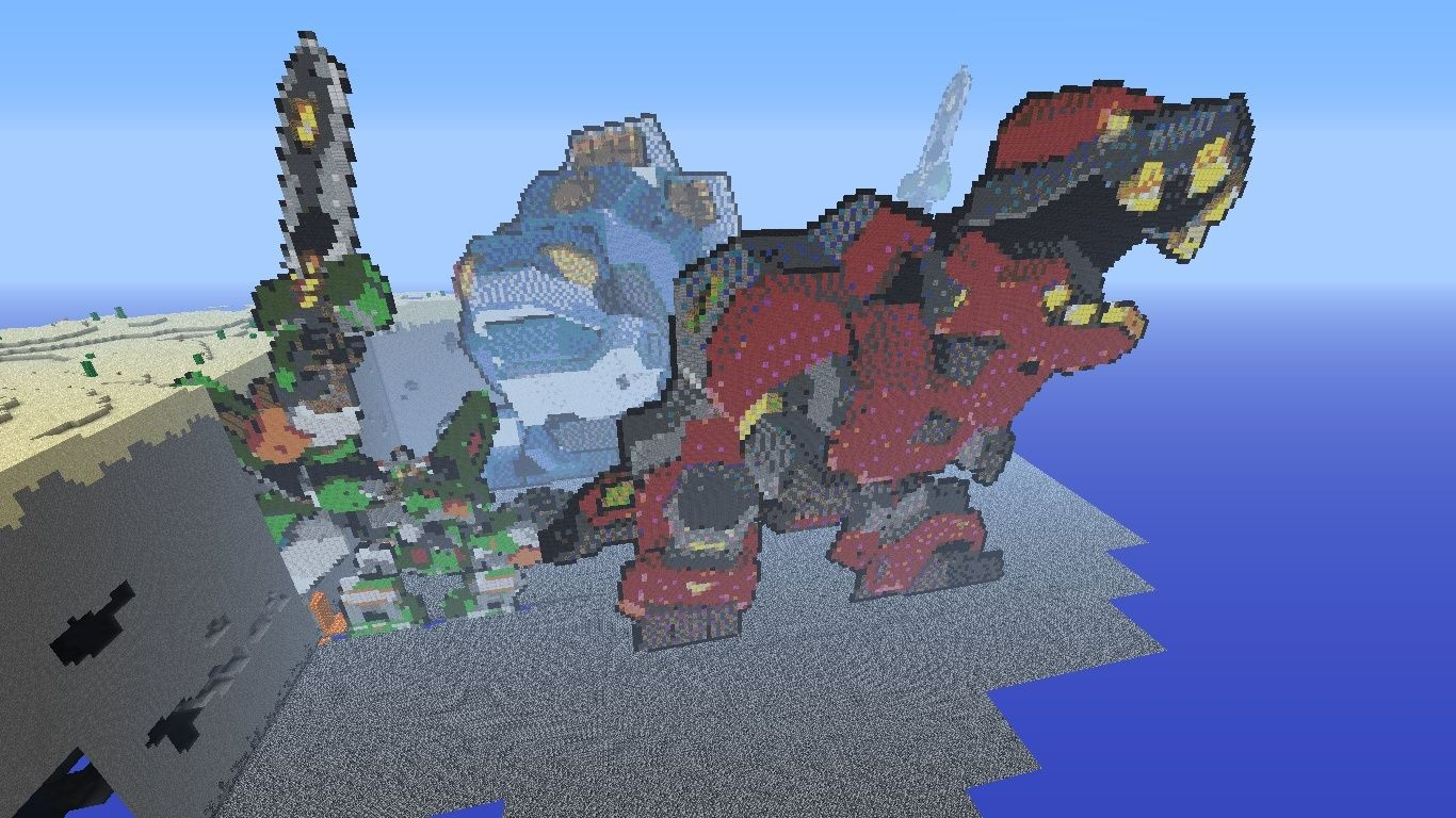 3 Arks in Minecraft :D 2012-014