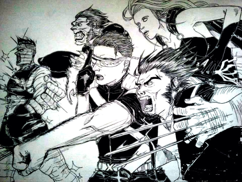 Quelques dessins Xmen10