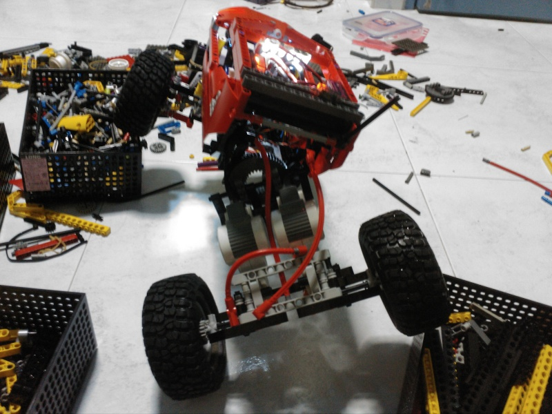 My one and only Crawler, upgraded and vastly improved ! Img_2013