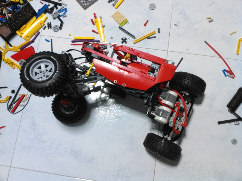 My one and only Crawler, upgraded and vastly improved ! Img_2014