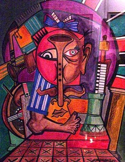 quand peinture et musique se conjuguent - Page 6 Faouzi12