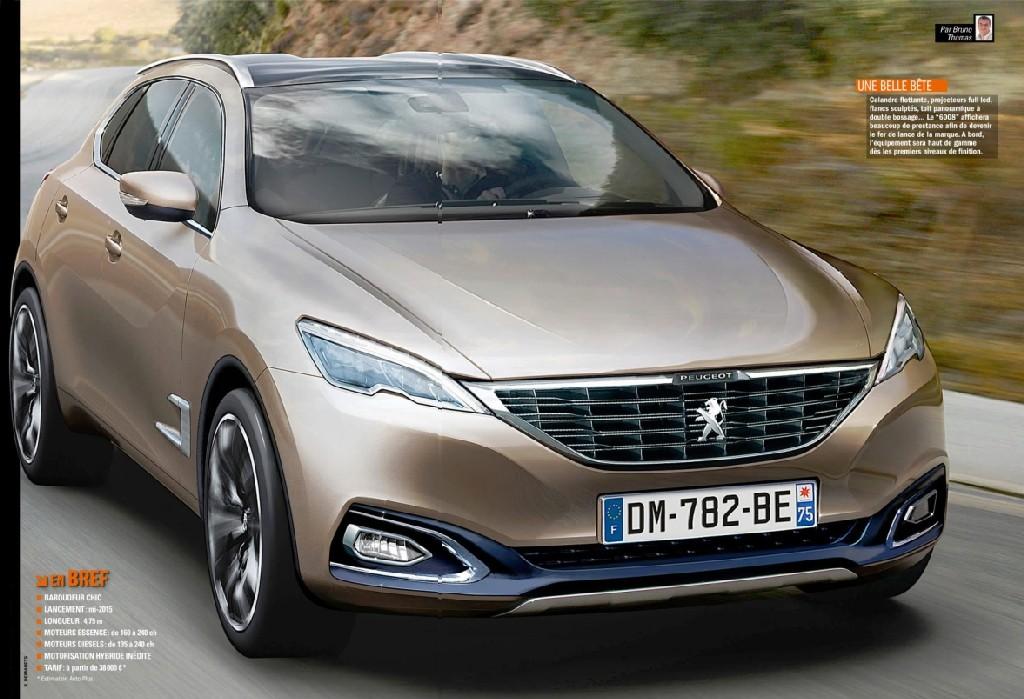 2023 - [Peugeot] 6008/7008 600810