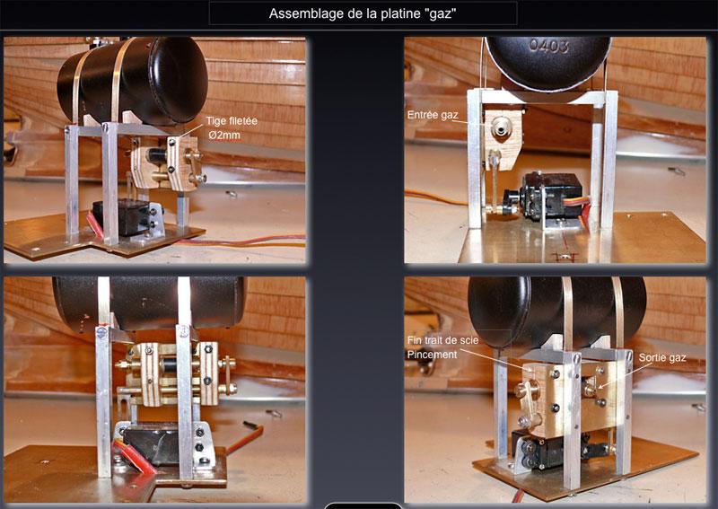 """Chaloupe à vapeur  """"Danmar"""" - Installation du moteur """"Cristal"""" d'Anton Assemb11"""