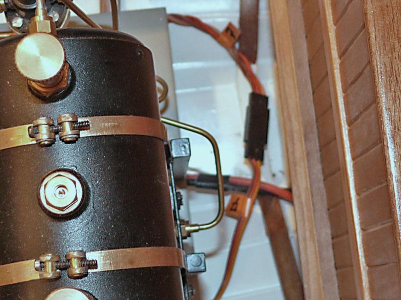 """Chaloupe à vapeur  """"Danmar"""" - Installation du moteur """"Cristal"""" d'Anton Branch10"""
