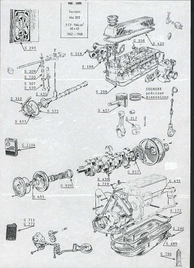collecteur moteur 335 96000111