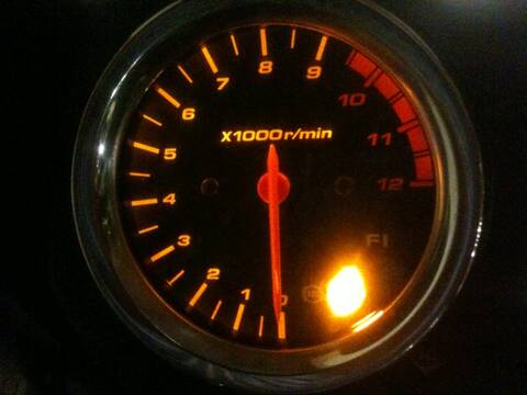 ABS Light on the 2009 1250S