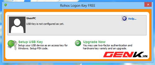 Biến USB thành chìa khóa đăng nhập vào hệ thống 2-5b9611