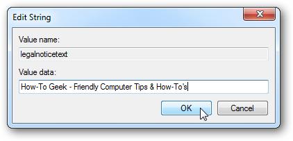 Hiển thị thông báo trước khi đăng nhập Windows 7 Regedi14