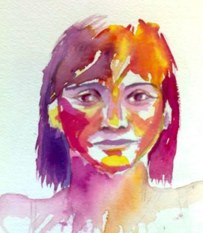 Mes aquarelles... - Page 6 Doroth10