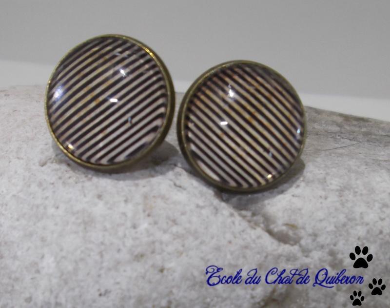 Les boucles d'oreilles...100% Fait-main, au profit de l'ECQ! Dscf1825