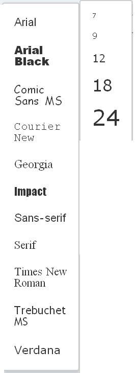 5th >>> istruzioni per l'uso degli editor text  Fontsi10