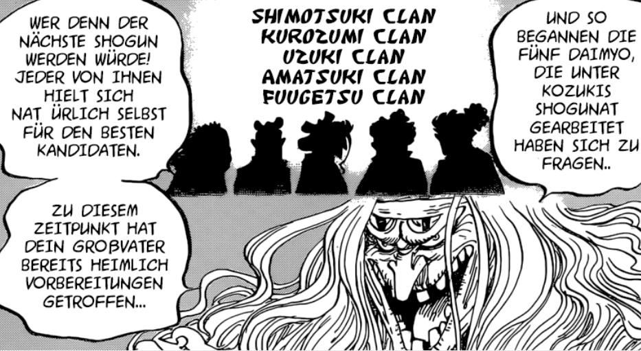 One Piece Kapitel 965: Die Kurozumi Clan Verschwörung Zorros12