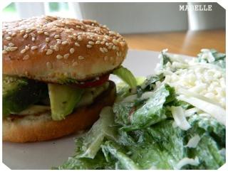 Hamburger à l'avocat Hambur10