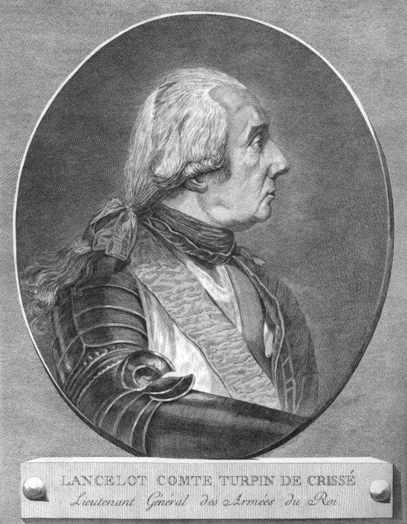 Lancelot TURPIN DE CRISSE, comte de Crissé , inspecteur-général de cavalerie et des dragons Lancel10