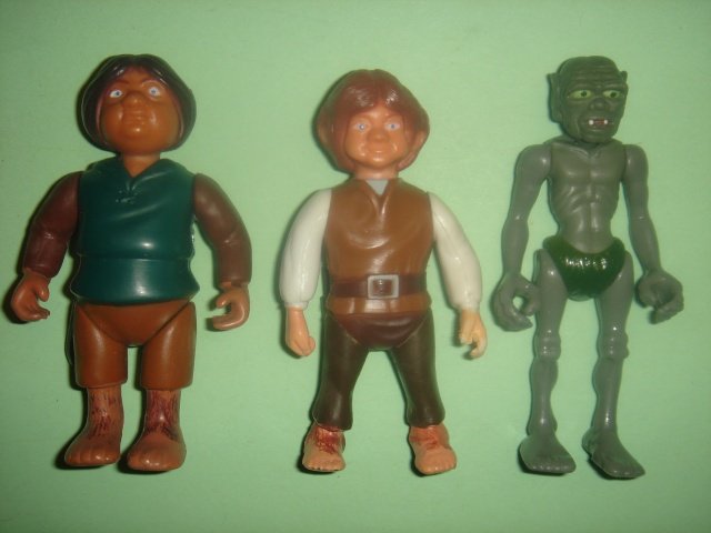 Does anyone else collect Knickerbocker's 1979 Lord of The Rings figures ? Dsc09411