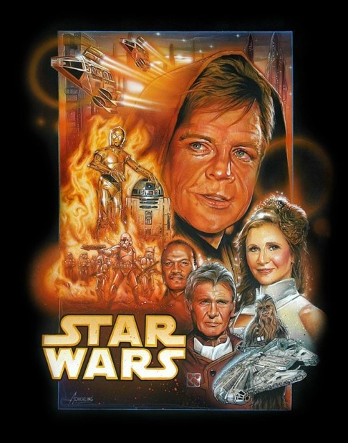 Who's starting to get excited about the new SW movies ? Mjnunu10