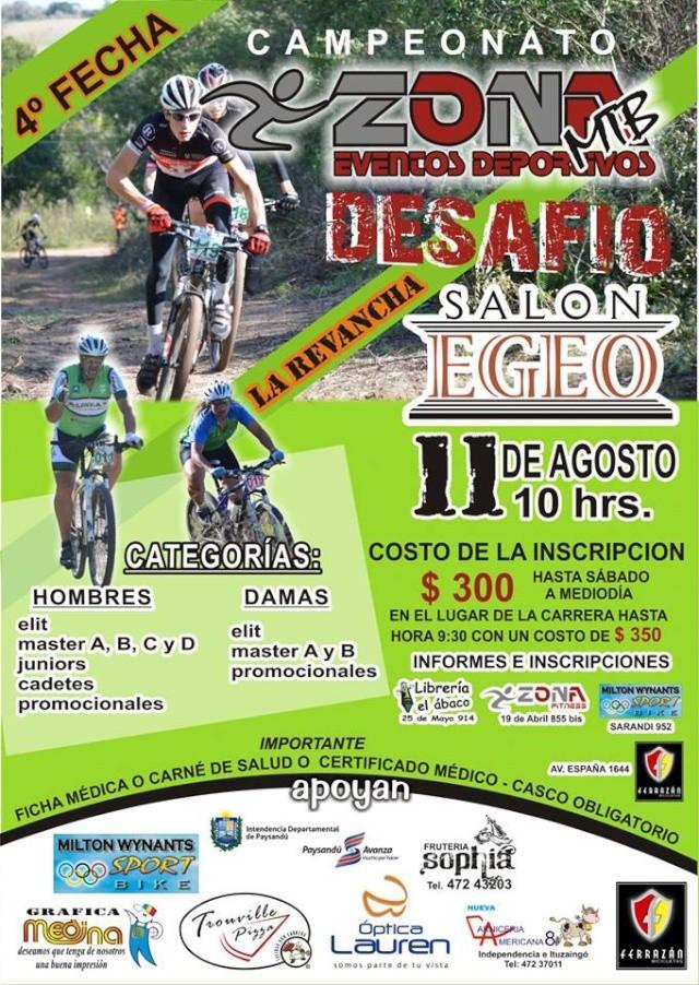 4° Fecha del Campeonato - Zona Evento Deportivo -  54684210