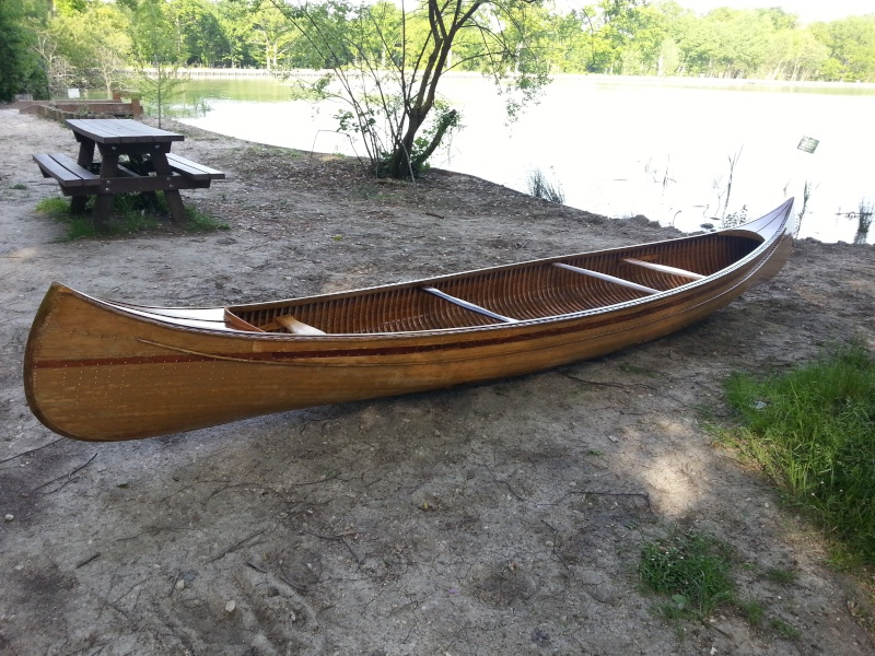 Canoe bois, genre CHAUVIERE 20130611