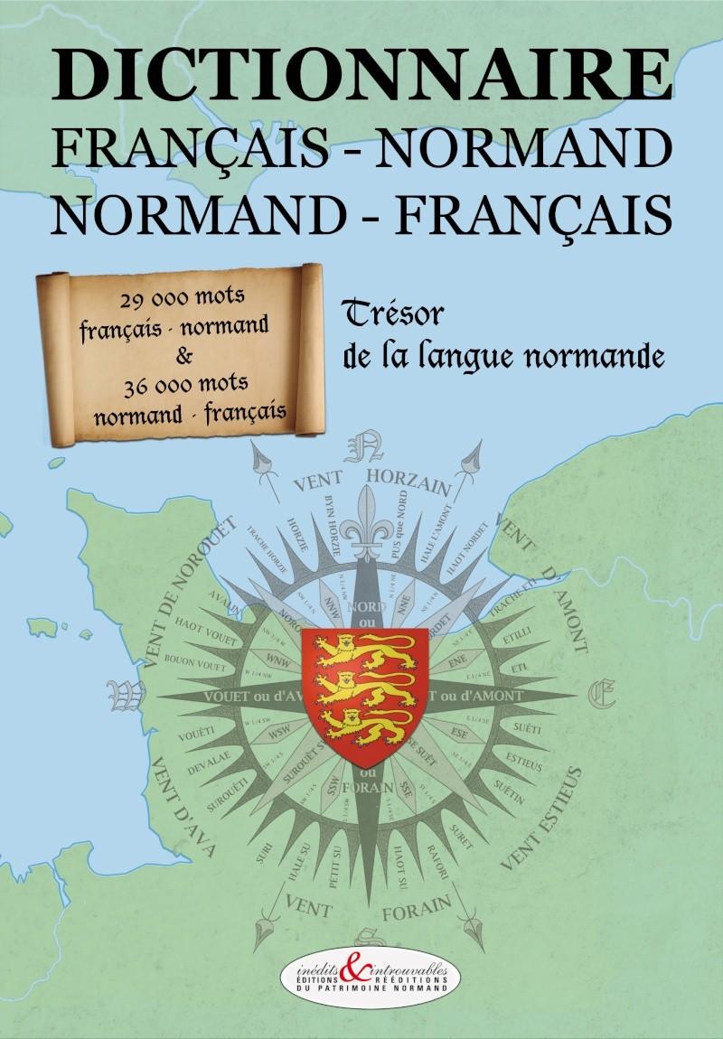 Dictionnaire du Patois Normand. Roger Dubos. Couver10