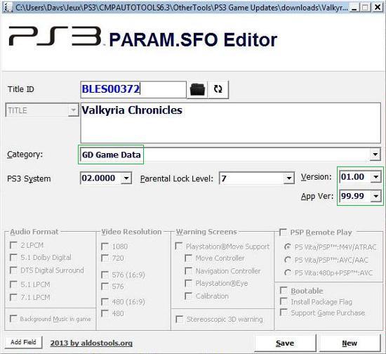 [PS3] Modification d'EBOOT & Création de PKG: Service Technique Captur38