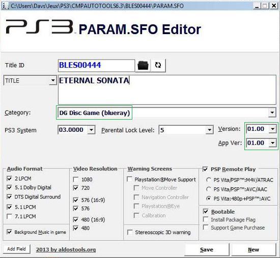 [PS3] Modification d'EBOOT & Création de PKG: Service Technique Captur39
