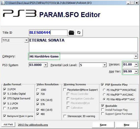 [PS3] Modification d'EBOOT & Création de PKG: Service Technique Captur40