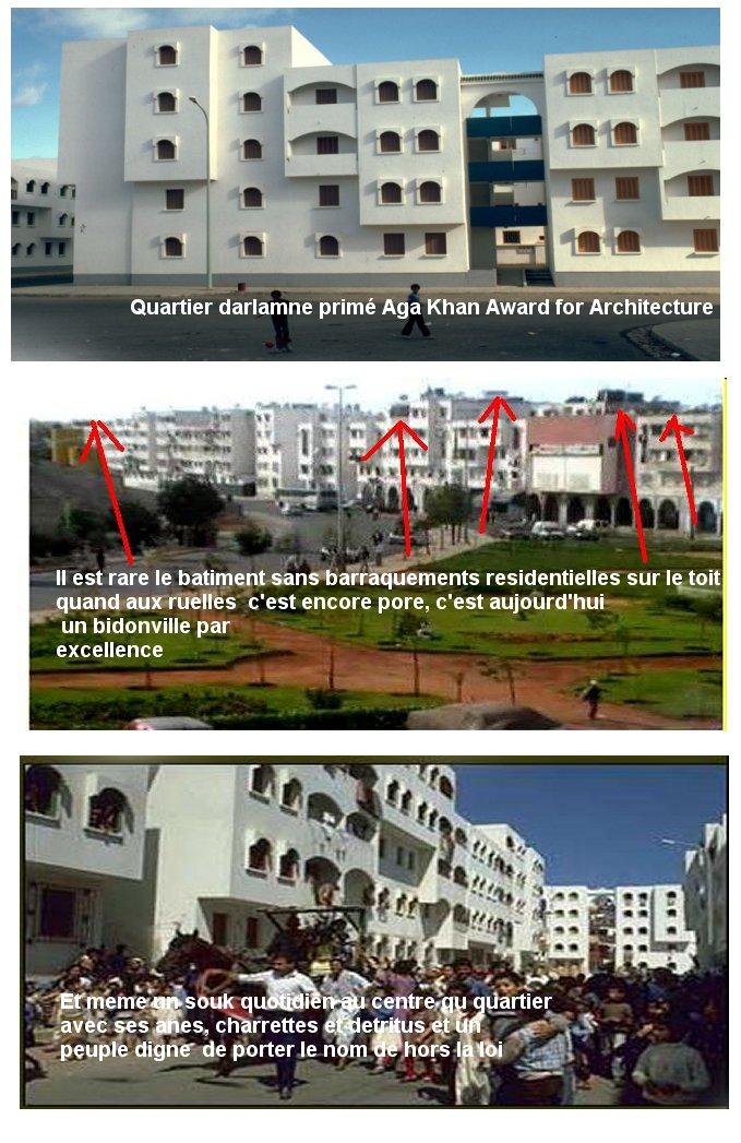 الأحياء الهامشية   والأحياء المهمشة  Quartiers marginaux et les quartiers marginalisés Darlam11