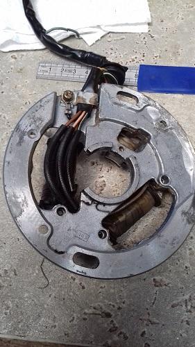 remplacement bobine allumage (stator) Bobine11