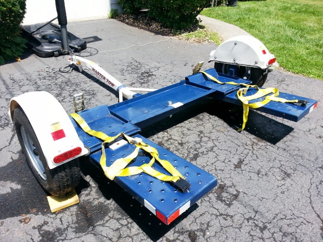 For Sale Tow Dolly Almost New 2011 Master Tow - quick sale for $850 Master12