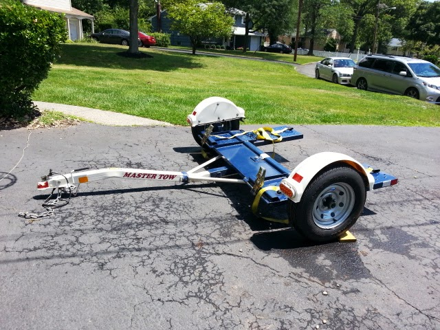 For Sale Tow Dolly Almost New 2011 Master Tow - quick sale for $850 Master13