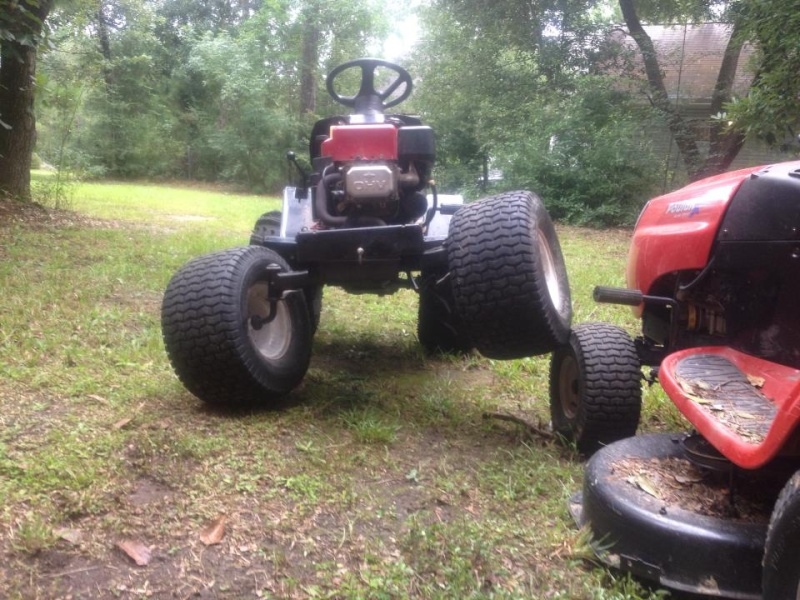 poulan mud/ trial mower project 10056410