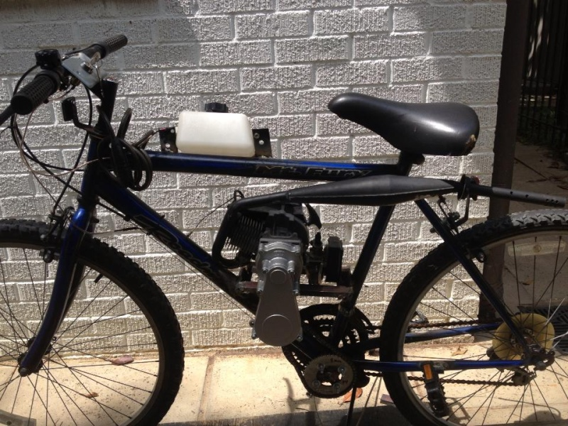 motorized bike 10062510