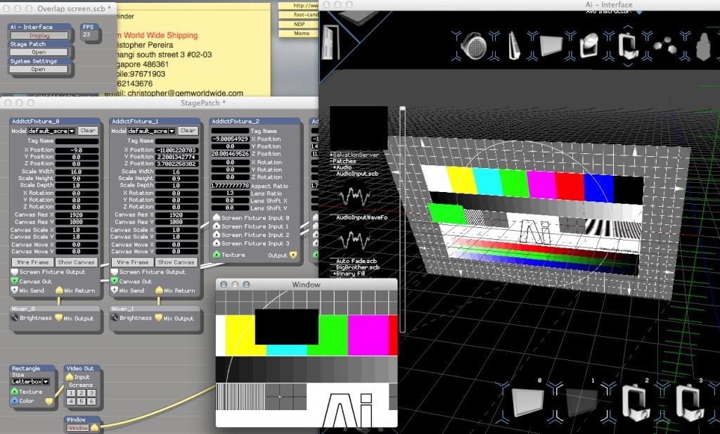 Overlapping Screen Fixtures Screen10