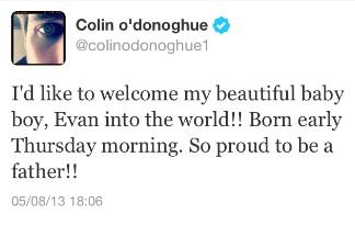 Colin O'Donoghue ( Killian Jones aka Hook) - Page 2 Babybo12