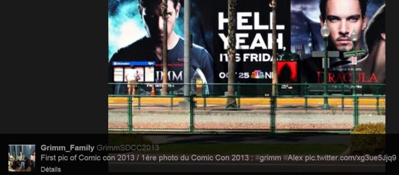 Comic Con 2013 Grimm, Grimm, Grimm, Grimm, Grimm, Grimm, Grimm... Tweet-10