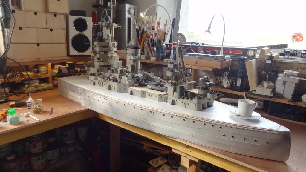 Des nouvelles d'un HMS Rodney au 1/72° - Page 2 Dsc07321