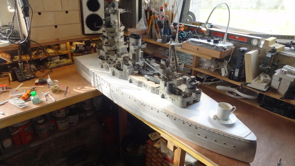 Des nouvelles d'un HMS Rodney au 1/72° - Page 2 Dsc07322