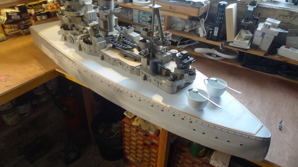 Des nouvelles d'un HMS Rodney au 1/72° - Page 2 Dsc07326